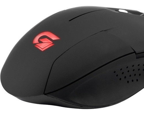 mouse gamer usb fortrek tarantula 2000 dpi 6 botões