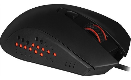 mouse gamer usb redragon gainer m610 3200 dpi 6 botoes led