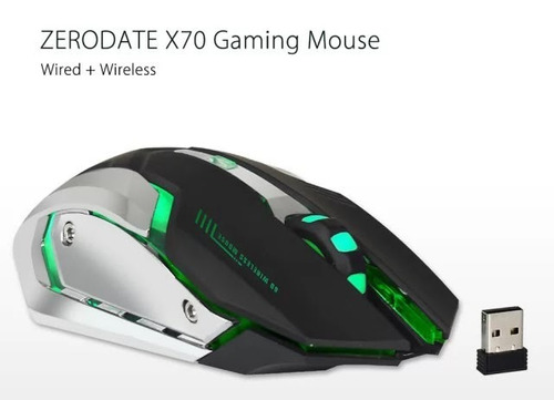 mouse gamer zerodate x70