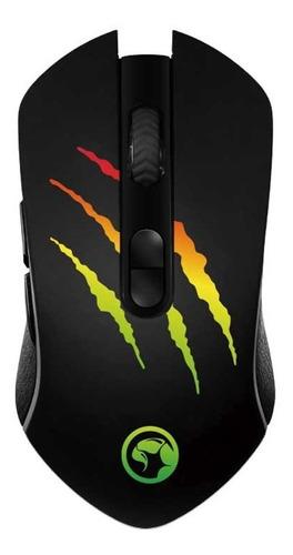 mouse gaming marvo m425g 3200 dpi optico led rgb