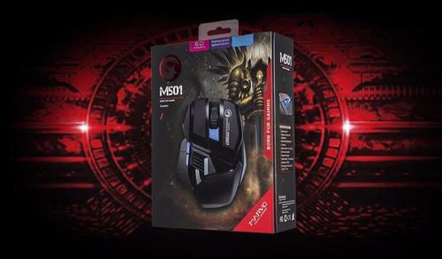 mouse gaming marvo scorpion m501