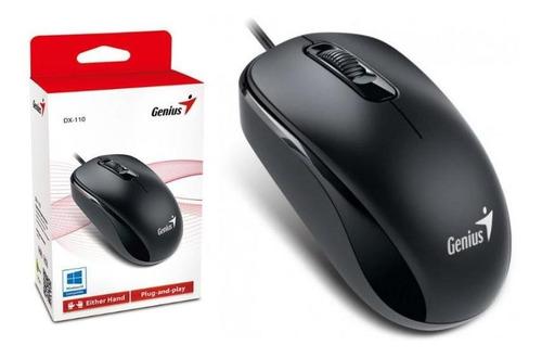 mouse genius dx-110 black ps2