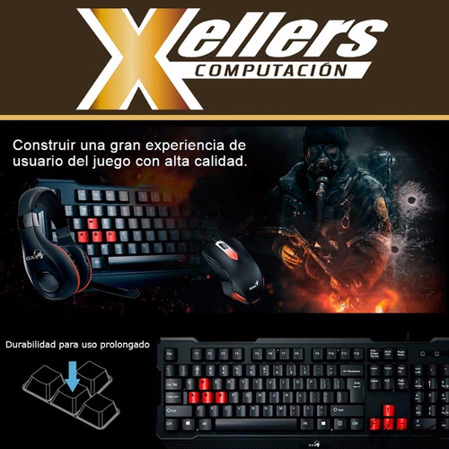 mouse genius kit teclado,