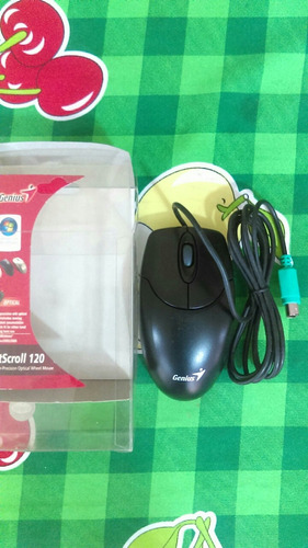 mouse  genius optical netscroll 120 ps2