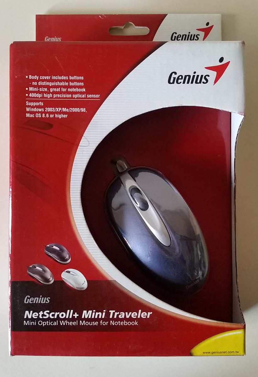 GENIUS NETSCROLL MINI TRAVELLER DRIVERS FOR MAC DOWNLOAD