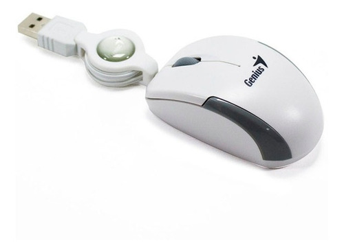 mouse genius retractil micro traveler portatil para notebook