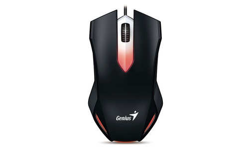 mouse genius x-g200 via usb con 1000 dpi y luz