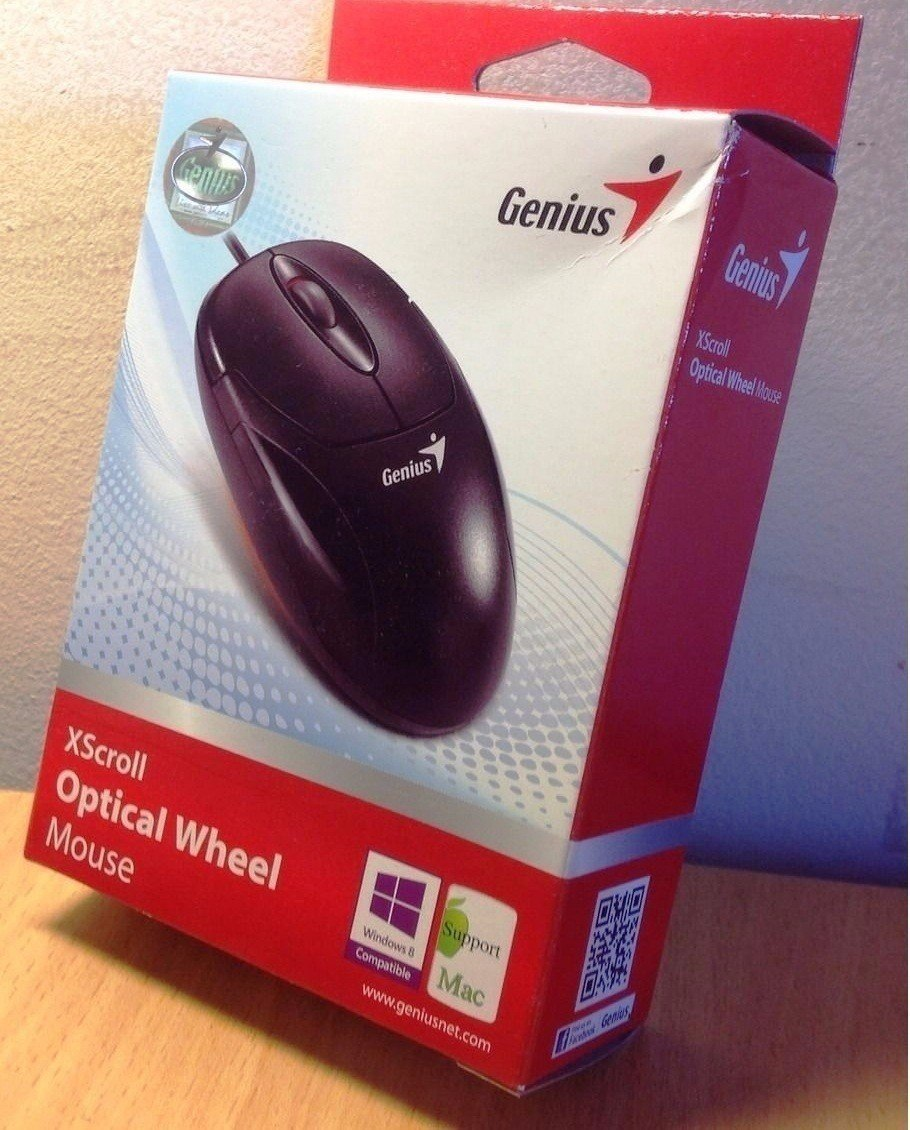 DRIVER UPDATE: GENIUS XSCROLL OPTICAL WHEEL MOUSE
