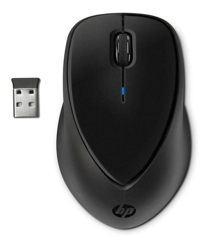 mouse hp comfort grip wireless h2l63aa preto