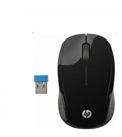 mouse hp sem fio x200 preto