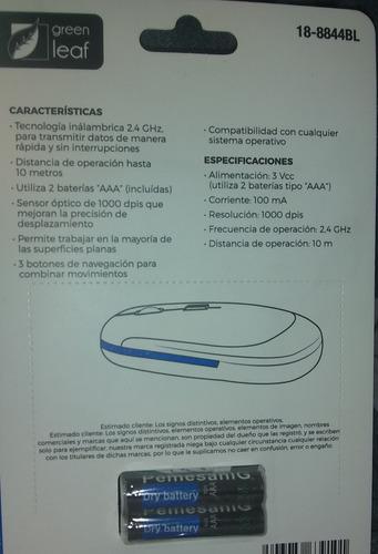 mouse inalámbrico