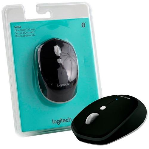 mouse inalámbrico bluetooth logitech m535 azul windows mac
