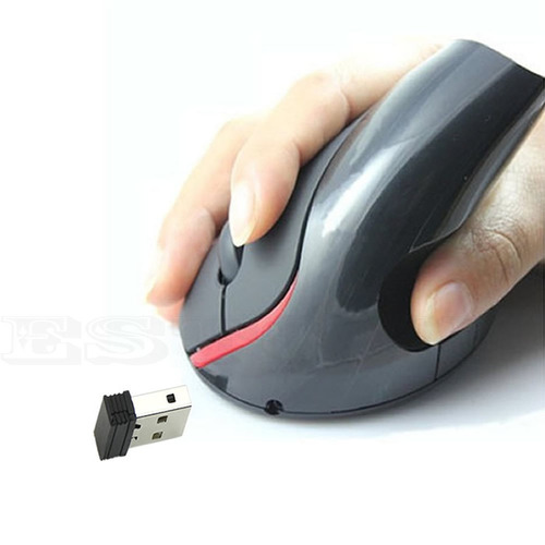 mouse inalambrico ergonomico ortopedico  pc portatil usb