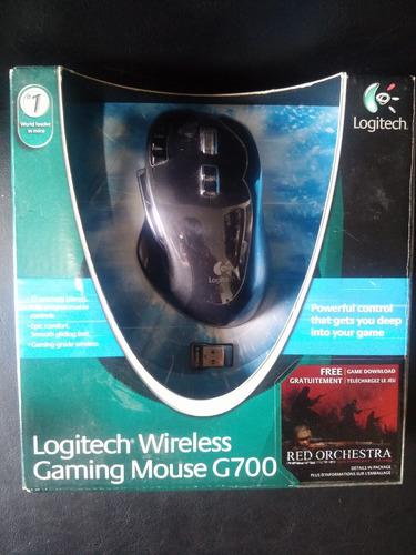 mouse inalambrico gamer logitech g700 a reparar
