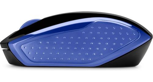 mouse inalambrico hp 200 azul