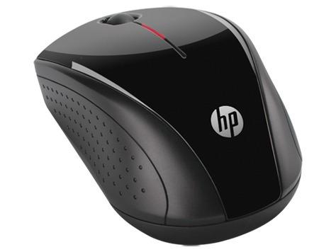mouse inalámbrico hp x3000 negro h2c22aa