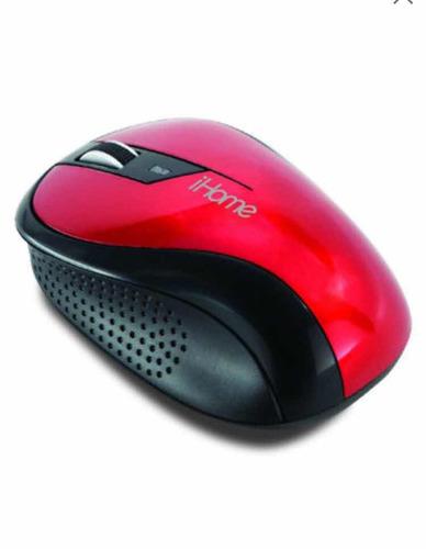 mouse inalámbrico ihome ih2010r nuevo envío gratis
