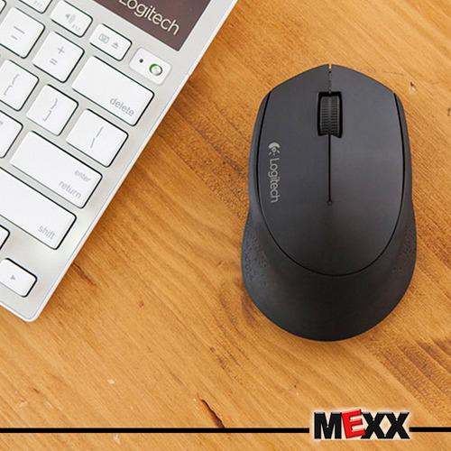 mouse inalámbrico logitech m280 wireless negro usb  mexx