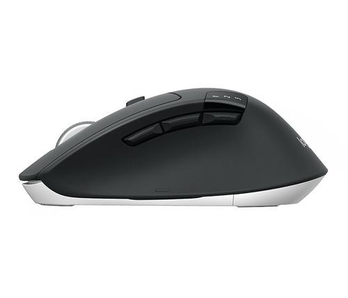 mouse inalámbrico logitech m720 triathlon, 1 000 dpi, blueto