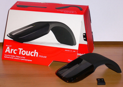 mouse inalambrico microsoft arc touch