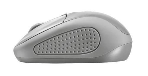 mouse inalámbrico modelo primo - gris - marca trust