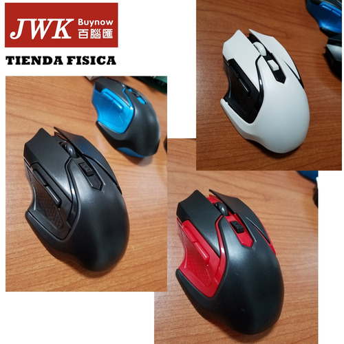 mouse inalambrico para pc o laptop 2.4ghz a 10mts jwk vision
