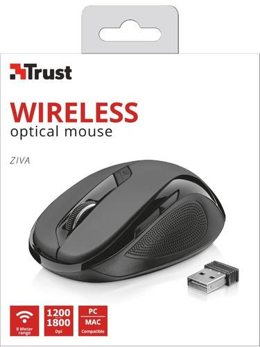mouse inalambrico trust ziva 4321