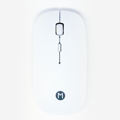 mouse inalambrico ultra delgado (blanco)