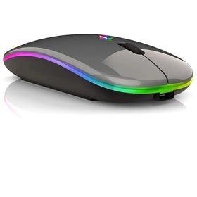 Mouse Inalámbrico Usb Recargable Ultradelgado