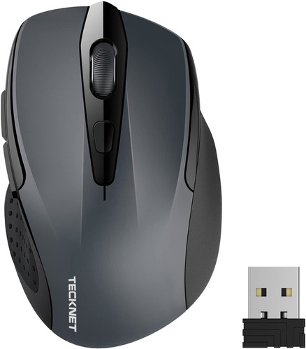 mouse inalámbrico wireless 2.4 ghz ergonómico alta precisión