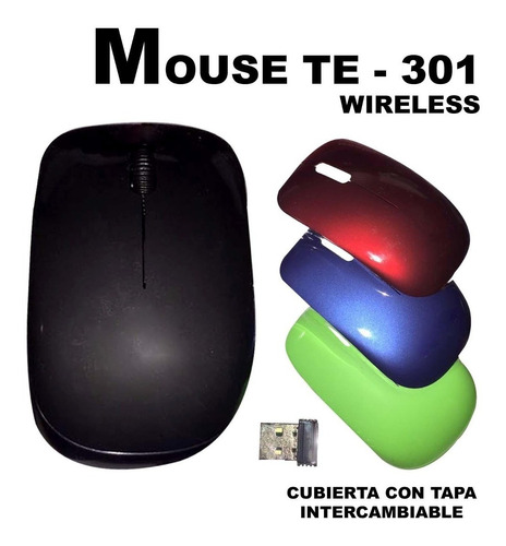 mouse inalambrico wireless por mayor y menor itelsistem
