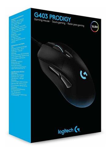 mouse logitech gaming g403 prodigy 910-004796