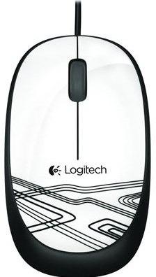 mouse logitech m105 negro, blanco y rojo garantia itelsistem