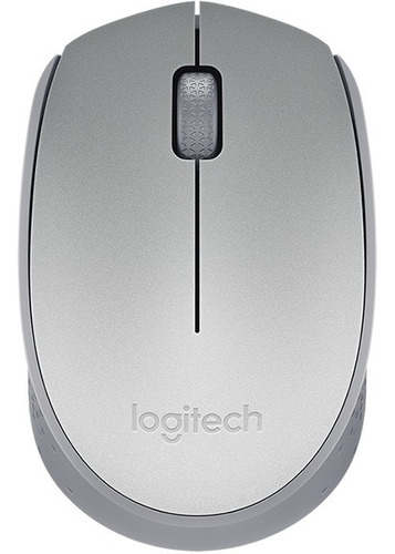 mouse logitech m170 grey gris wireless usb inalambrico htg