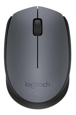 mouse logitech m170 inalambrico portable varios colores-lt