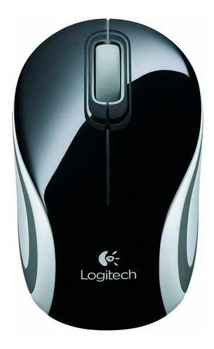 mouse logitech m187 inalambrico negro