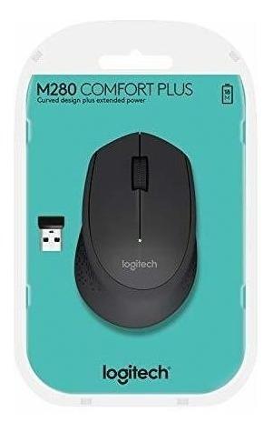 mouse logitech m280 inalámbrico negro