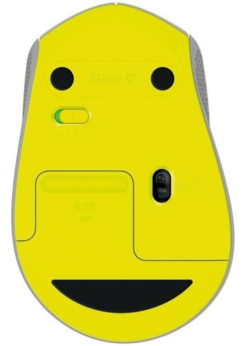 mouse logitech m280 wireless 1000 dpi sem fio original