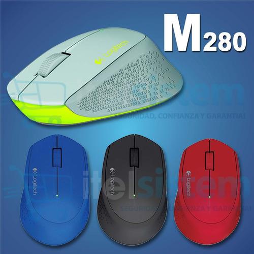 mouse logitech m280 wireless con garantia itelsistem