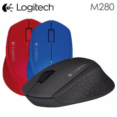 mouse logitech m280 wireless con garantia rss