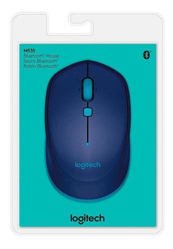 mouse logitech m535 bluetooth azul