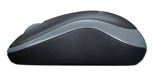 mouse m185 inalambrico gris
