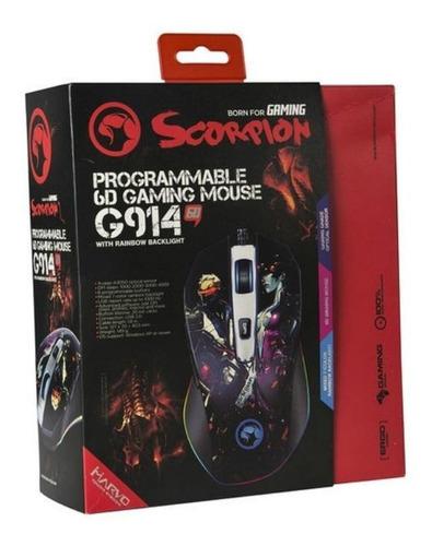 mouse marvo g914 edición overwatch 4000 dpi rgb