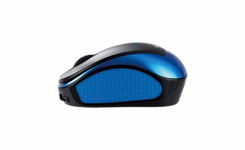 mouse mini inalambrico genius traveler 9000r recargable azul