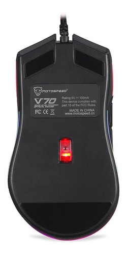 mouse motospeed v70 12000dpi rgb chroma gamer pro pmw3360
