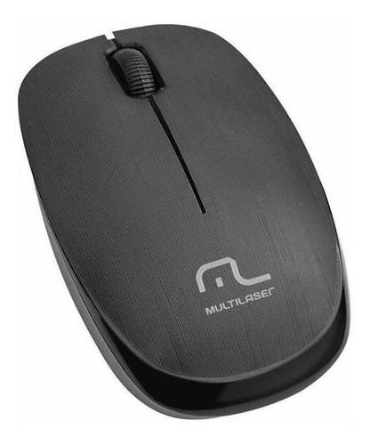 mouse multilaser sem fio 2.4 ghz usb 1.200 dpi preto mo251