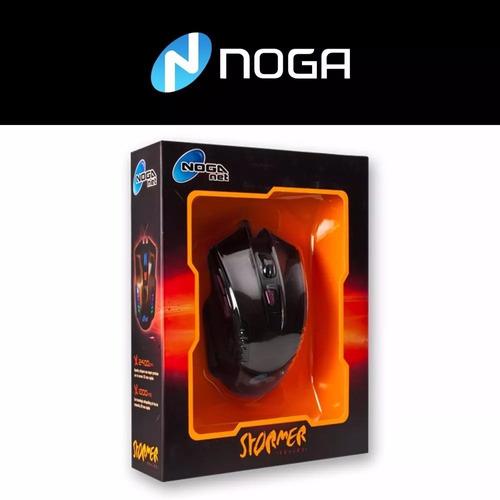 mouse noga gamer st-336 usb 6 bot 2400dpi tienda