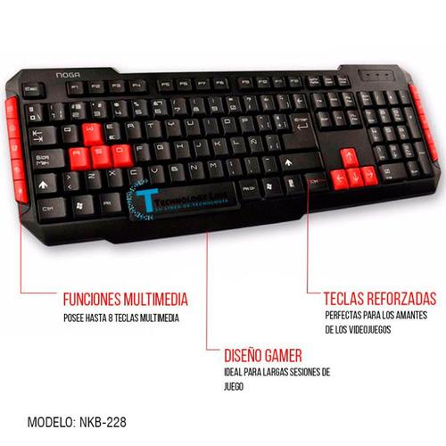 mouse noga teclado