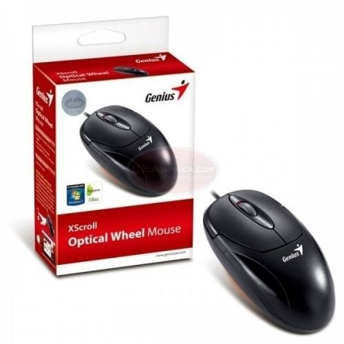 mouse optical wheel genius