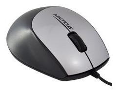 mouse óptico 800dpi usb cinza arcticus office